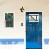 注文住宅 かっこいい工務店 山形県 福井建設 自由設計 施工例26 玄関ドア