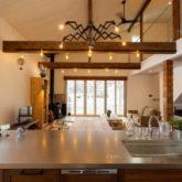 注文住宅 かっこいい工務店 山形県 福井建設 自由設計 施工例26 LDK キッチン