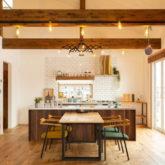 注文住宅 かっこいい工務店 山形県 福井建設 自由設計 施工例26 キッチン