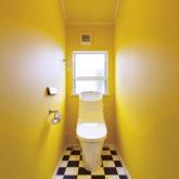 注文住宅 かっこいい工務店 埼玉 古川工務店 施工例45 アメリカン 2階 トイレ