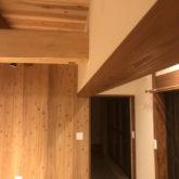 注文住宅 かっこいい工務店 三重県 桑名市 家作店 辰屋 新築 施工例9 古民家風 梁 天然木