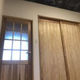 注文住宅 かっこいい工務店 三重県 桑名市 家作店 辰屋 新築 施工例9 古民家風 天然木 フローリング 無垢 建具