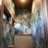 注文住宅 かっこいい工務店 三重県 桑名市 家作店 辰屋 新築 施工例9 古民家風 トイレ