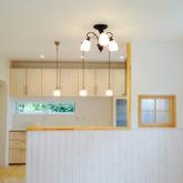 注文住宅 かっこいい工務店 ブレス(ブレスホーム) 施工例41 アーリーアメリカン キッチン