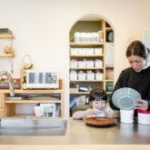 注文住宅 かっこいい工務店 熊本 ブレス 施工例43 アメリカン キッチン