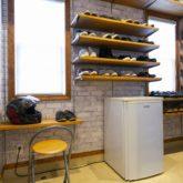 注文住宅 かっこいい工務店 福岡 不動産プラザ 施工例22 プロヴァンス 玄関ホール 靴収納