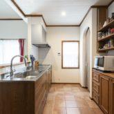 注文住宅 かっこいい工務店 福岡 不動産プラザ 施工例21 アメリカン キッチン
