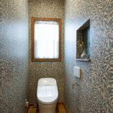 注文住宅 かっこいい工務店 福岡 不動産プラザ 施工例21 アメリカン トイレ