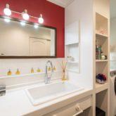注文住宅 かっこいい工務店 古川工務店 施工例47 プロヴァンス ハンドメイド 洗面化粧台
