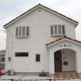 注文住宅 かっこいい工務店 宮城県 富樫工業 トガシホーム プロヴァンス 施工例69 外観 塗り壁