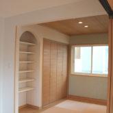 注文住宅 かっこいい工務店 宮城 富樫工業 トガシホーム 施工例71 ブリック 主寝室 収納スペース