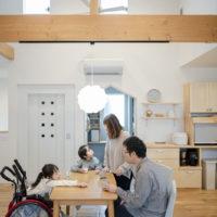 注文住宅 かっこいい工務店 熊本 ブレス ブレスホーム 施工例44 ナチュラル ユニバーサルデザイン リビング