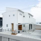 注文住宅 かっこいい工務店 熊本 ブレス ブレスホーム 施工例43 ナチュラル ユニバーサルデザイン 外観 2