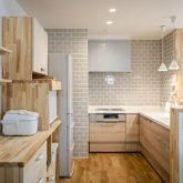 注文住宅 かっこいい工務店 熊本 ブレス ブレスホーム 施工例43 ナチュラル ユニバーサルデザイン キッチン
