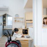 注文住宅 かっこいい工務店 熊本 ブレス ブレスホーム 施工例43 ナチュラル ユニバーサルデザイン キッチンカウンター 造作