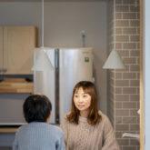 注文住宅 かっこいい工務店 熊本 ブレス ブレスホーム 施工例43 ナチュラル ユニバーサルデザイン キッチンカウンター 造作 対面キッチン