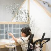 注文住宅 かっこいい工務店 熊本 ブレス ブレスホーム 施工例43 ナチュラル ユニバーサルデザイン 造作 洗面台