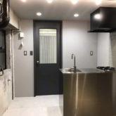 注文住宅 かっこいい工務店 東京 バークノア 施工例25 マンション ワンルーム フルリノベーション インダストリアル ブルックリン オープンキッチン