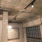注文住宅 かっこいい工務店 東京 バークノア 施工例25 マンション ワンルーム フルリノベーション インダストリアル ブルックリン ライティング 稼働照明