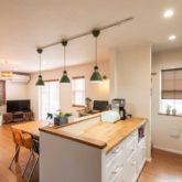 注文住宅 かっこいい工務店 埼玉 古川工務店(デザインハウス・エフ) 施工例52 アメリカン キッチン