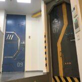 注文住宅 かっこいい工務店 東京 バークノア 施工例28 マンション リノベーション 宇宙基地 ガンダム世代 1R 5