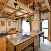 注文住宅 かっこいい工務店 京都府 福知山市 ADACHI住建 足立住建 おうち家さん 新築 施工例4 オープンキッチン