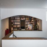 注文住宅 かっこいい工務店 ブレス ブレスホーム 施工例45 プロヴァンス 二階ホール 書斎