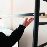 注文住宅 かっこいい工務店 京都府 福知山市 ADACHI住建 足立住建 おうち屋さん 新築 施工例5 棚 収納