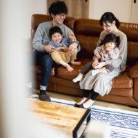 注文住宅 かっこいい工務店 熊本 ブレス 施工例46 アメリカン リビング