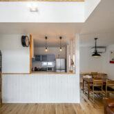 注文住宅 かっこいい工務店 熊本 ブレス 施工例46 アメリカン キッチン