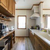 注文住宅 かっこいい工務店 福岡 不動産プラザ ブルースホーム小倉 施工例24 プロヴァンス キッチン