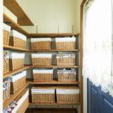 注文住宅 かっこいい工務店 福岡 不動産プラザ ブルースホーム小倉 施工例24 プロヴァンス パントリー