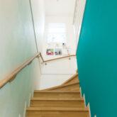 注文住宅 かっこいい工務店 埼玉 古川工務店 デザインハウスエフ アメリカン 木製階段