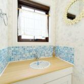 注文住宅 かっこいい工務店 宮城県 富樫工業 トガシホーム 施工例78 プロヴァンス 造作洗面台