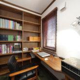 注文住宅 かっこいい工務店 宮城県 富樫工業 トガシホーム 施工例78 書斎