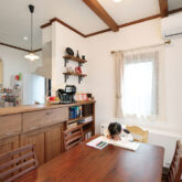 注文住宅 かっこいい工務店 宮城県 富樫工業 トガシホーム 施工例78 プロヴァンス ダイニング