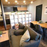 注文住宅 かっこいい工務店 東京 バークノア 新築・増改築・リフォーム・リノベーション 設計デザイン施工管理 施工例29 リノベーション シェアハウス ピザ屋風 BRONX PIZZA  共有スペース 2