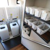 注文住宅 かっこいい工務店 東京 バークノア 新築・増改築・リフォーム・リノベーション 設計デザイン施工管理 施工例29 リノベーション シェアハウス ピザ屋風 BRONX PIZZA  共有スペース 洗濯室