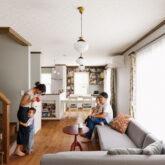 注文住宅 かっこいい工務店 埼玉 古川工務店 デザインハウスエフ 施工例55 アメリカン リビング